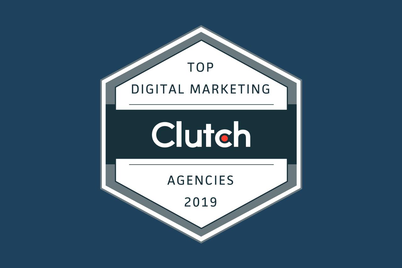 Signa Marketing Receives a Clutch Leader Award in Digital Marketing