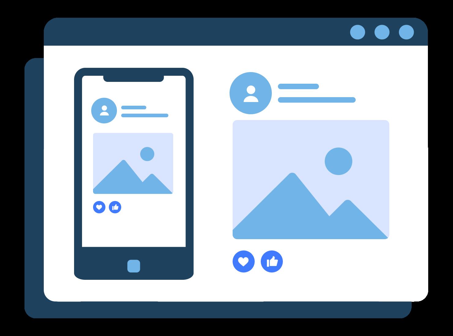 Social media for ecommerce sites